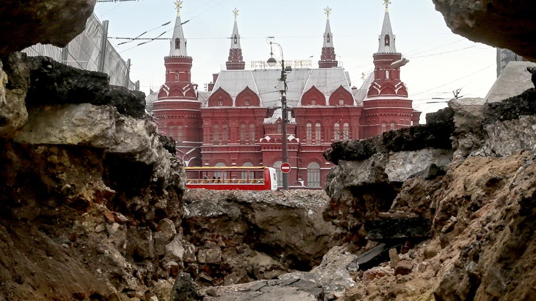 Реконструкция Тверской: Праздник археологов
