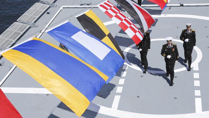Российский Адмирал Эссен против американского эсминца Портер