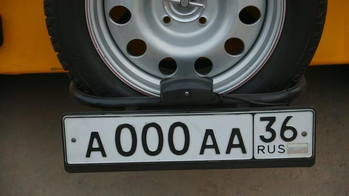 Чипованные автомобильные номера могут появиться в России