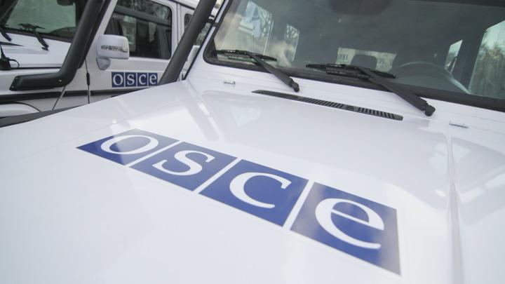 ОБСЕ заявила, что взрыв автомобиля миссии под Луганском не был покушением