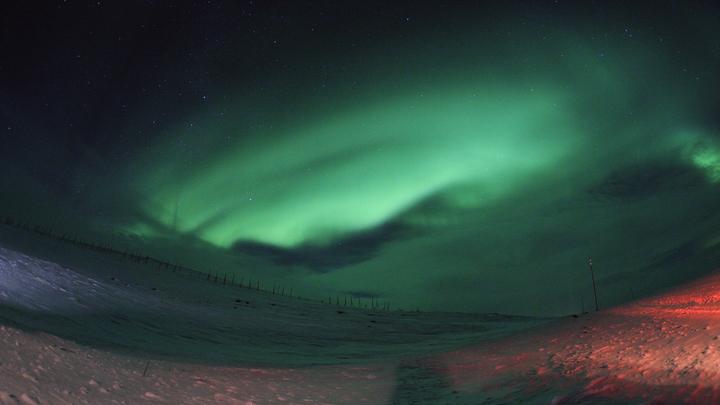 Стало известно, когда смотреть северное сияние над Москвой