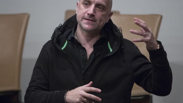 Прилепин рассказал о возможной гибели актера Пашинина