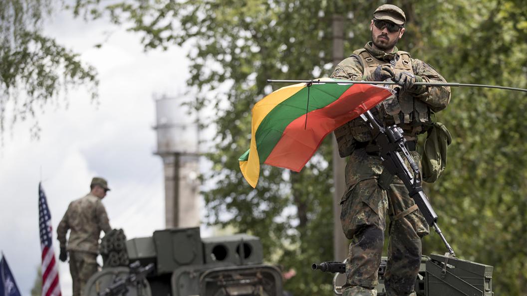 НАТО готовится к тотальной войне в Прибалтике