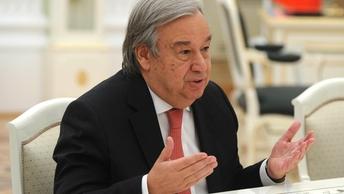 Генсек ООН хочет обсудить с Лавровым ситуацию на Украине и в Сирии