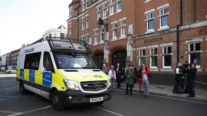 Бомба в лондонском метро была начинена шрапнелью