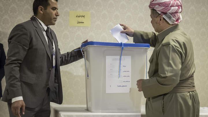 Только 8,17 процента избирателей высказались против независимости Иракского Курдистана