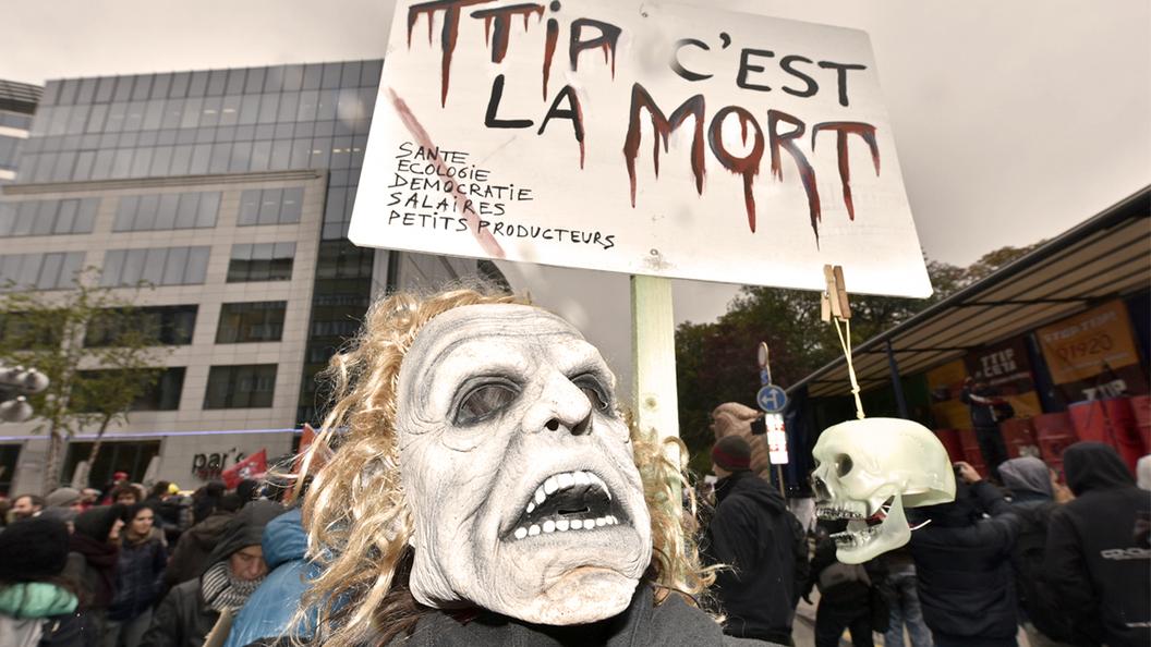 Французский бунт против американского глобализма
