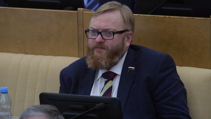 Милонов призвал государство прекратить давать деньги режиссерам