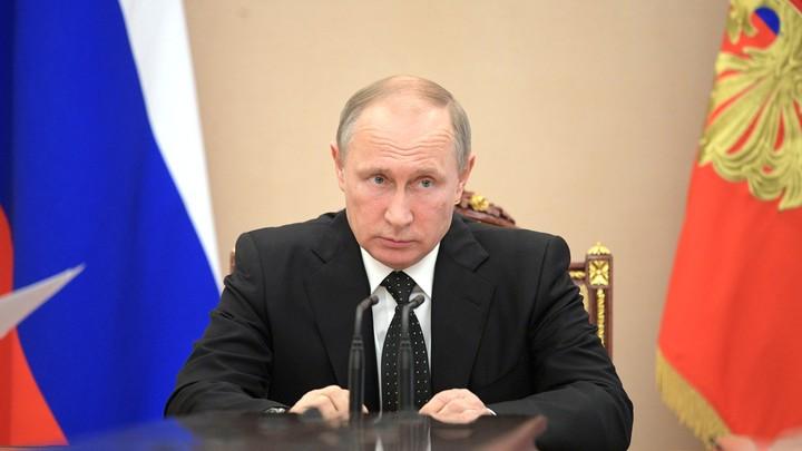 Путин наказал Соколова дисциплинарным взысканием - указ