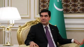 Президент Туркменистана улыбнулся ошибке диктора, не справившегося с его отчеством