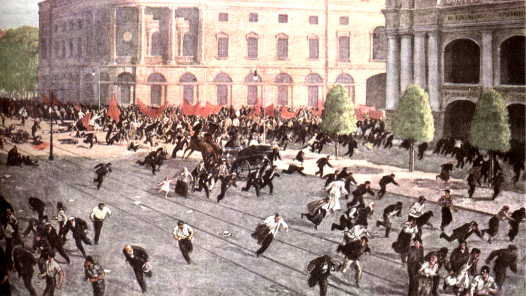 Июльские дни 1917 года: Петроград, Севастополь