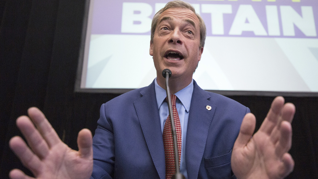 Лидер британских евроскептиков подал в отставку