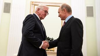 Путин: Визит Штайнмайера поможет укрепить отношения России и Германии