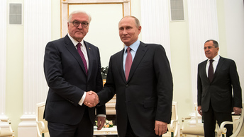 Несмотря на сложности: Путин и Штайнмайер договорились развивать отношения