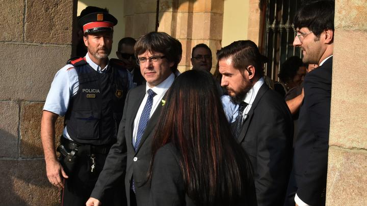 Пучдемон не сдается: Бывшие чиновники Каталонии создали легитимное правительство