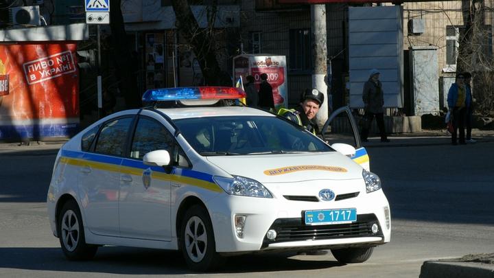 СБУ задержала русского в форме Нацполиции, вооруженного гранатами и коктейлями Молотова