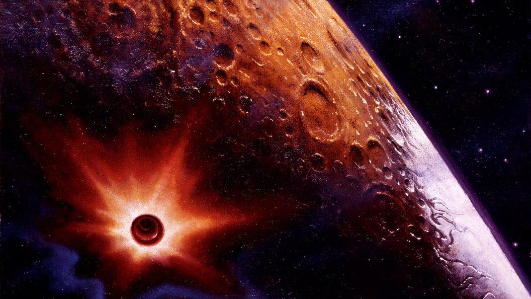 Метеориты стали первопричиной вспышек наЛуне— Ученые