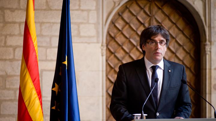 Пучдемон призвал сторонников независимости Каталонии идти на выборы единым фронтом