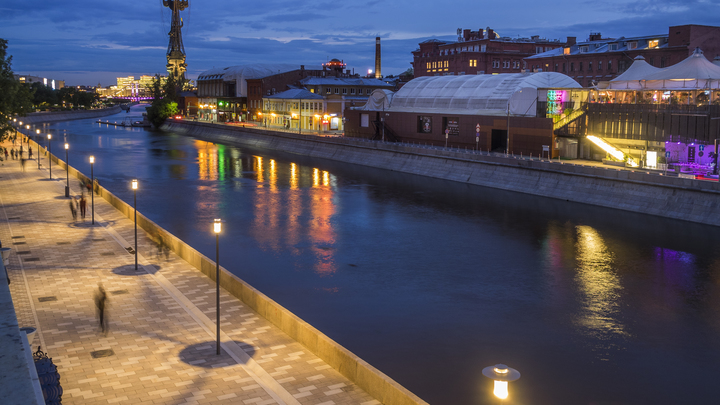 Зимой по Москве-реке будут курсировать специальные теплоходы