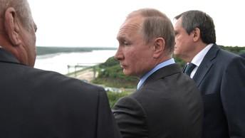 Владимир Путин прибыл в столицу Южного Урала