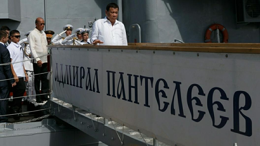 Корабли Тихоокеанского флота прибыли вТаиланд для участия впараде