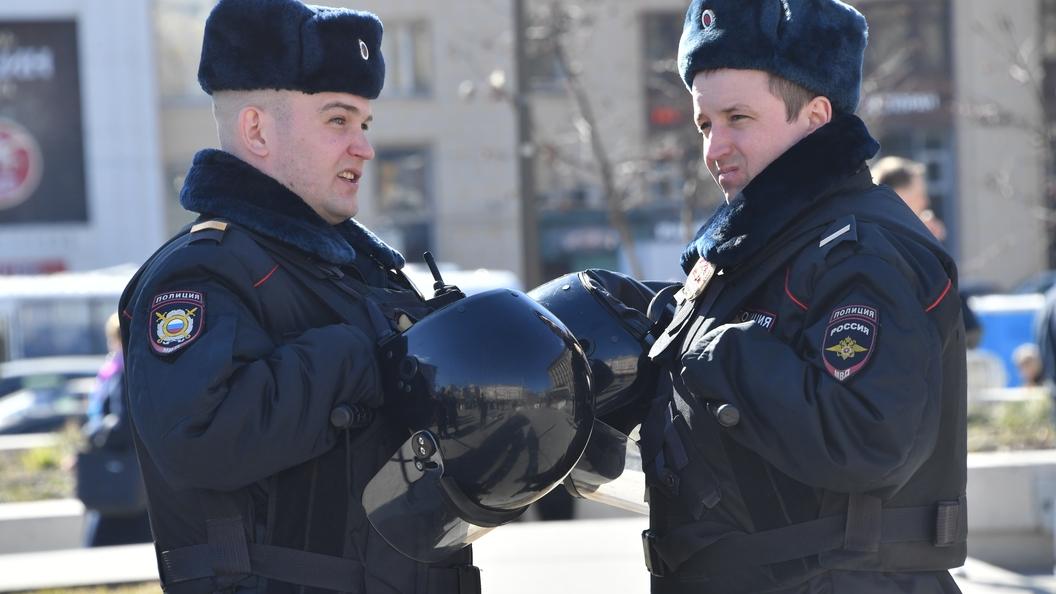 В российской столице  введен план «Перехват» из-за разбойников на 2-х  машинах