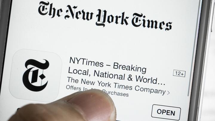 NYT объяснила свою политику по спорным территориям после инцидента с картой Крыма