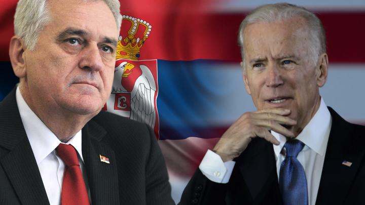 Байден будет требовать от Сербии изменить конституцию