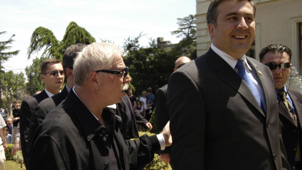 Депутат Рады Рабинович предложил Саакашвили отведать галстука и угомониться