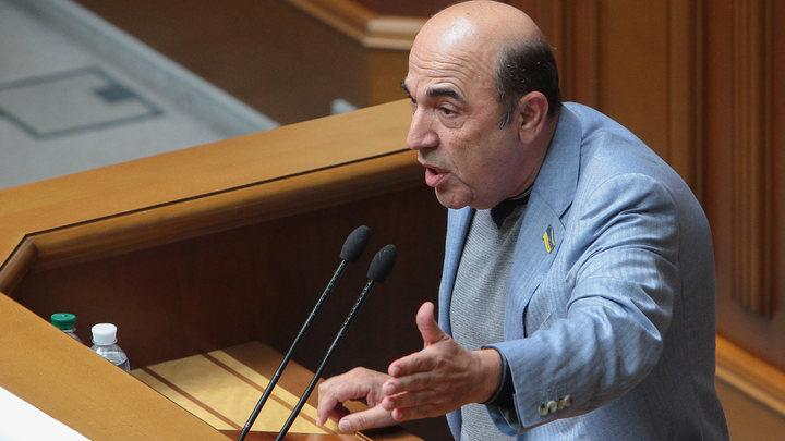 Депутат Рады Рабинович предложил Саакашвили отведать галстука и успокоиться