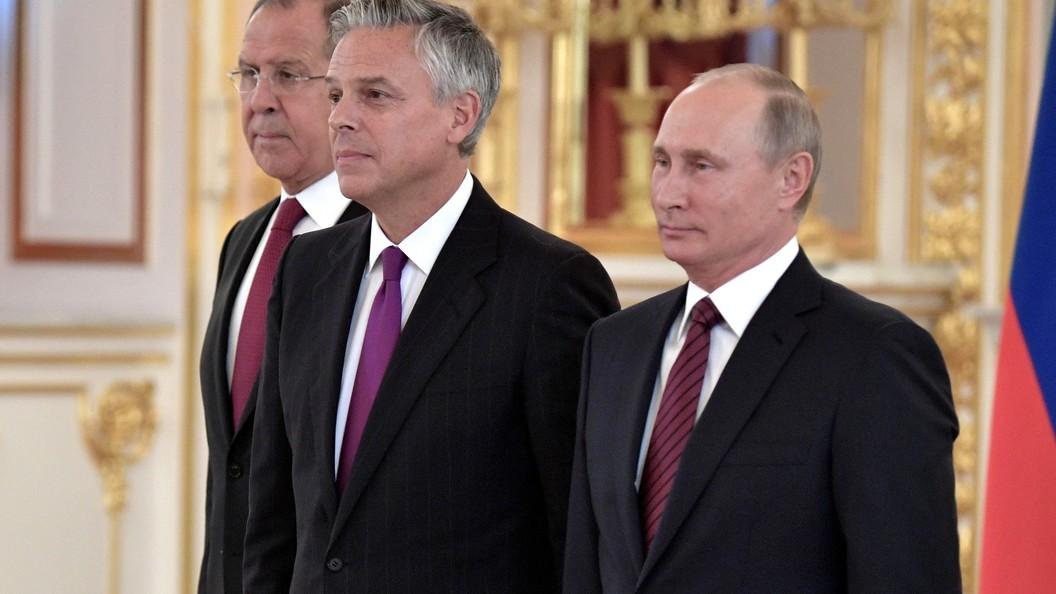 Хантсман призвал США по-честному наращивать контакты с Россией по Сирии и Украине