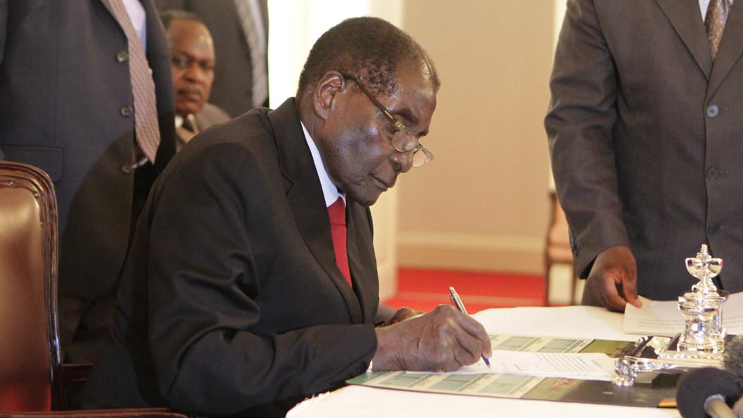 Мугабе дали наименее суток надобровольный уход вотставку
