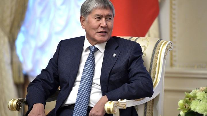 Президент Киргизии о журналисте, забравшем его часы: Хорошо, что не брюки попросил