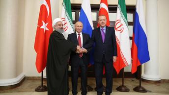 Дамаск одобрил единый план Москвы, Тегерана и Анкары