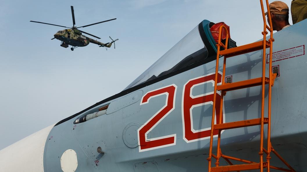 Русские бомбардировщики добивают террористов вСирии