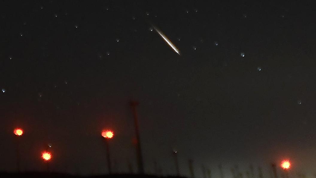 Огненный шар в небе над Японией напугал местных жителей