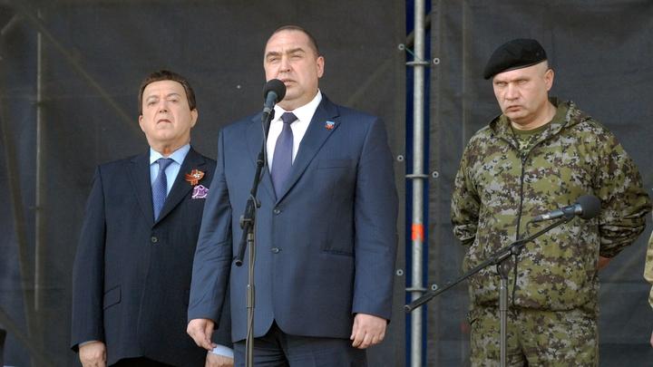 Игорь Плотницкий подал в отставку с поста главы ЛНР и назначил и. о.