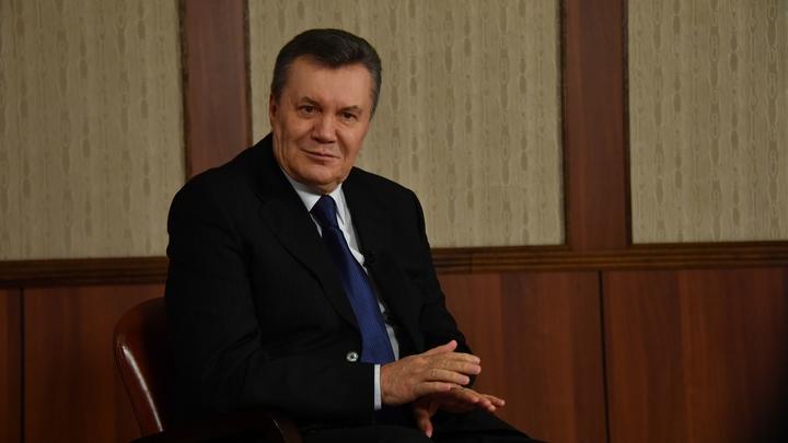Янукович заставил украинские власти расследовать собственный заговор