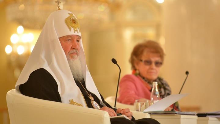 Патриарх Кирилл: Церковь на Украине служит миротворцем