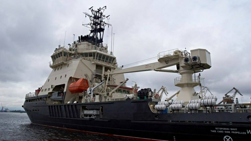 Самый новый ледокол «Илья Муромец» передадут ВМФ 30ноября