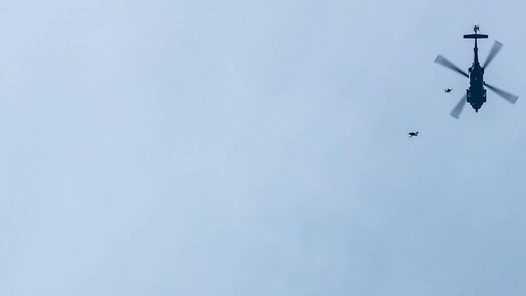 В ИГ утверждают, что сняли на видео уничтожение российского вертолета Ми-24