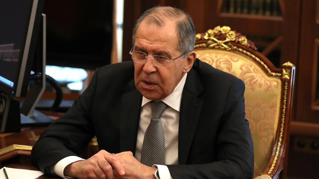 Лавров раскритиковал реакциюЕС назакон обобразовании вгосударстве Украина
