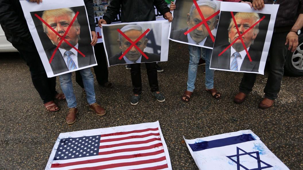 Палестина нежелает принимать вгосударстве вице-президента США