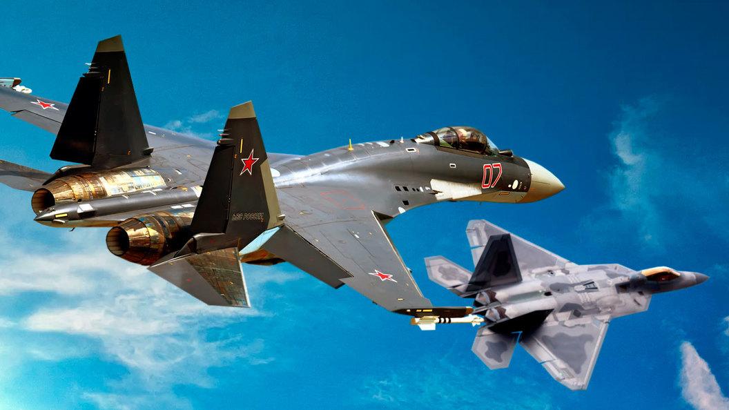 США начали воздушные бои против ВКС России в небе Сирии