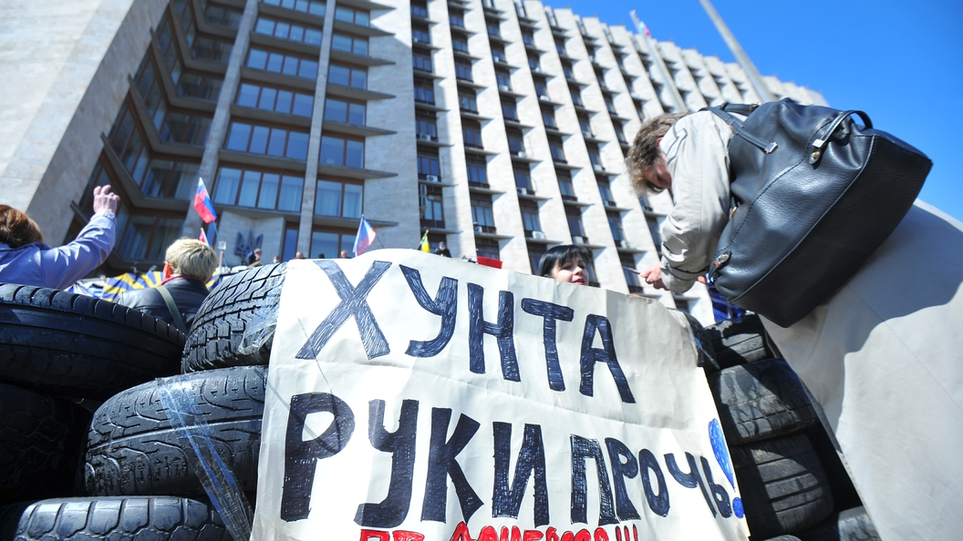 Турчинов объявил, что Киев будет усиливать свои позиции вДонбассе