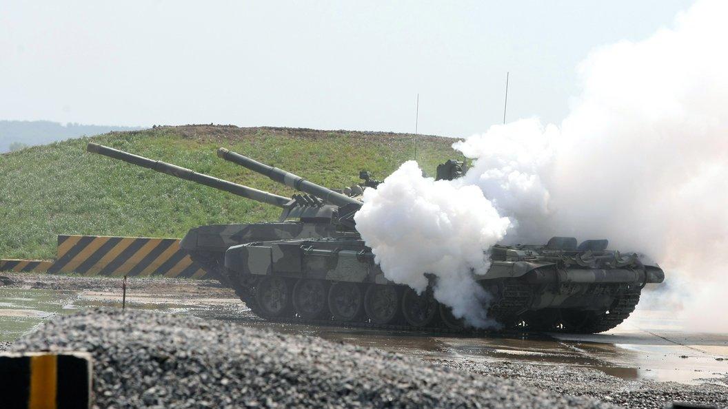 В Сирии разглядели прошедшие на Параде Победы российские танки