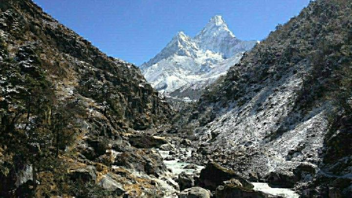 Обвал в Альпах: Три путешественника погибли