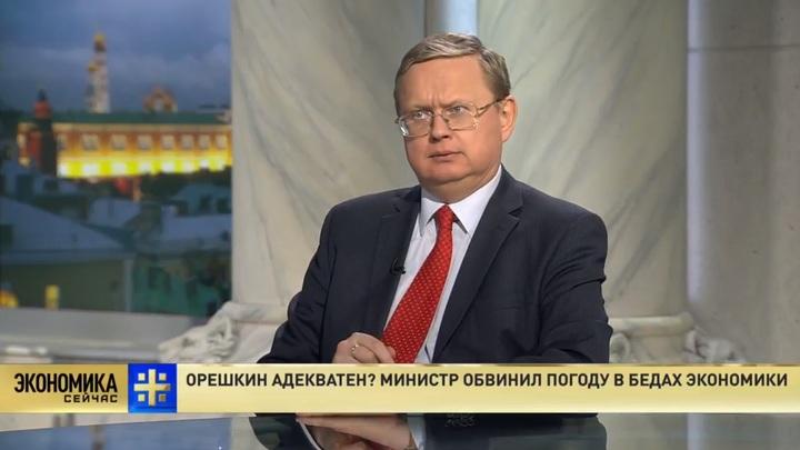 Михаил Делягин: Орешкин занимается плановым уничтожением российской экономики