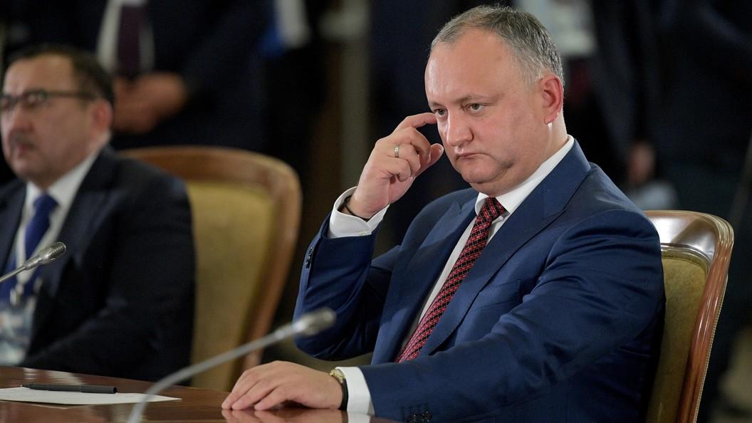 Додон предложил Российской Федерации снизить для Молдавии цену нагаз— Евразийская интеграция