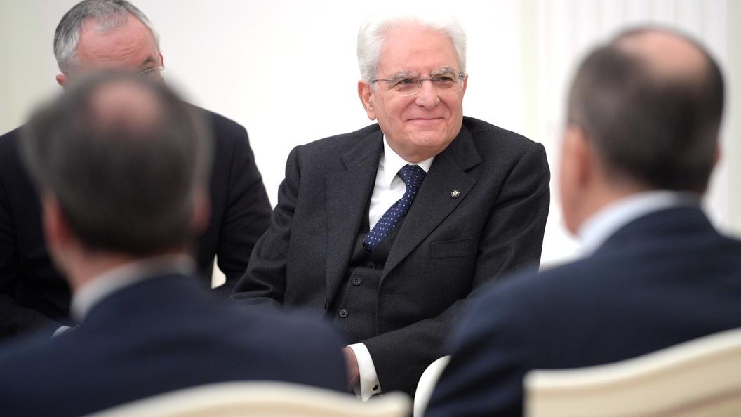 Президент Италии подписал указ ороспуске парламента